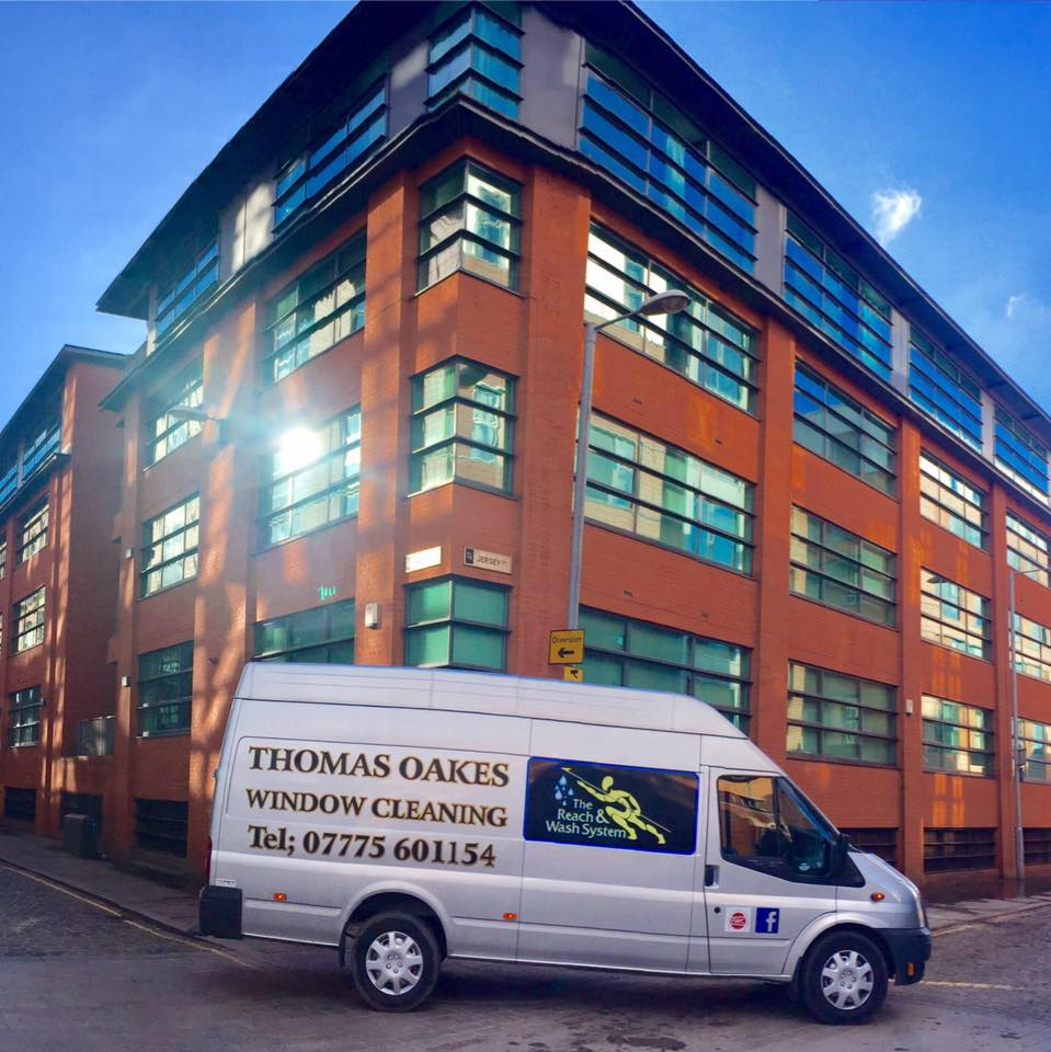 Thomas Oakes Window Cleaning Van